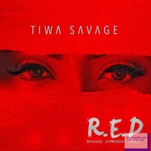 "Check Out The Album Art Tiwa Savage Used In Covering Her Yet To Be Released Album, "" R.E.D """